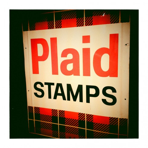 Plaid Stamps
