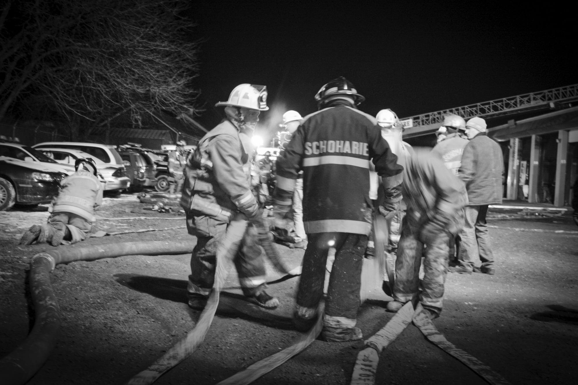 Schoharie County DPW Fire