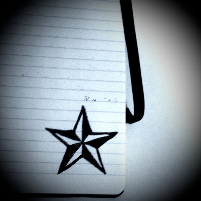 Star In My Notebook