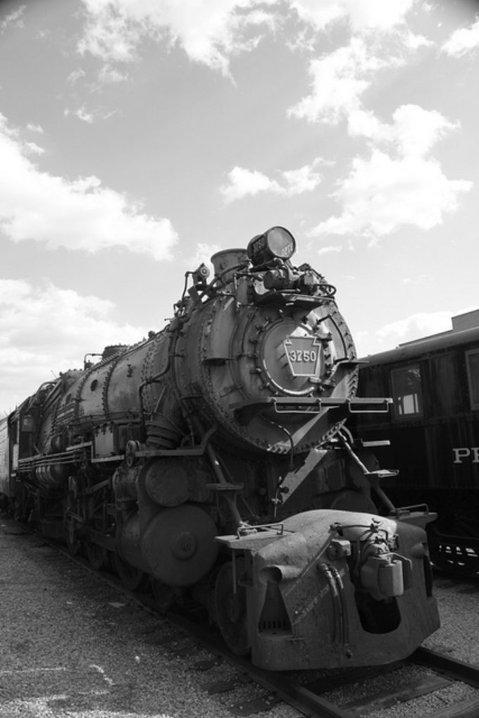 Steam Locomotive 3750