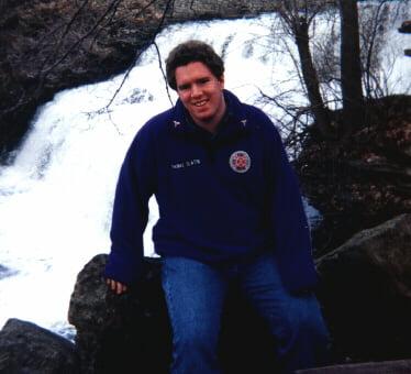 Ellicott Creek Falls in Glen Park