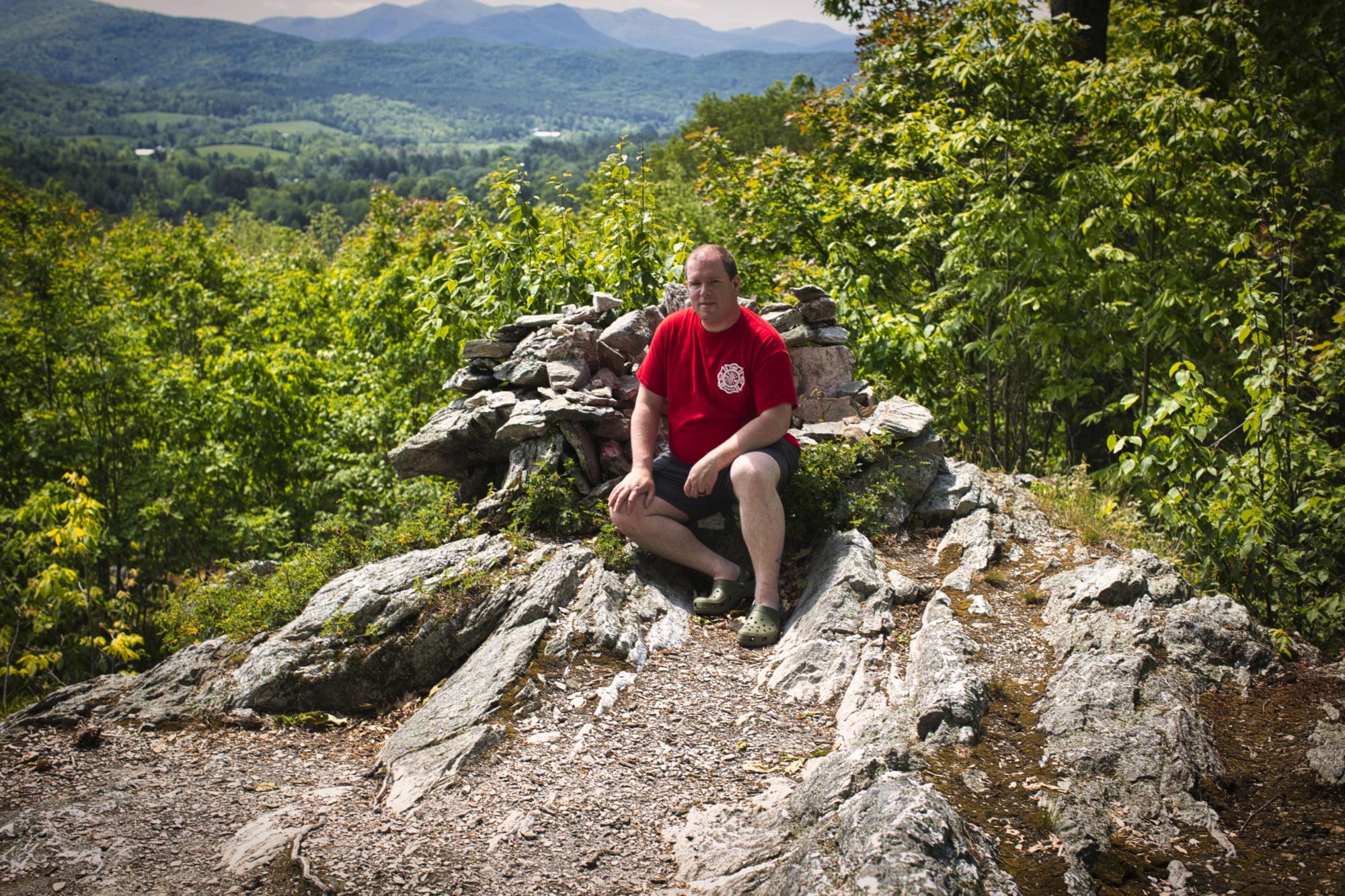 Thomas On The Mountain Top