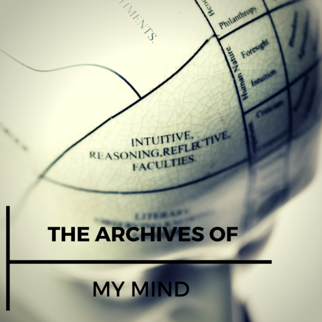 The Archives Of My Mind