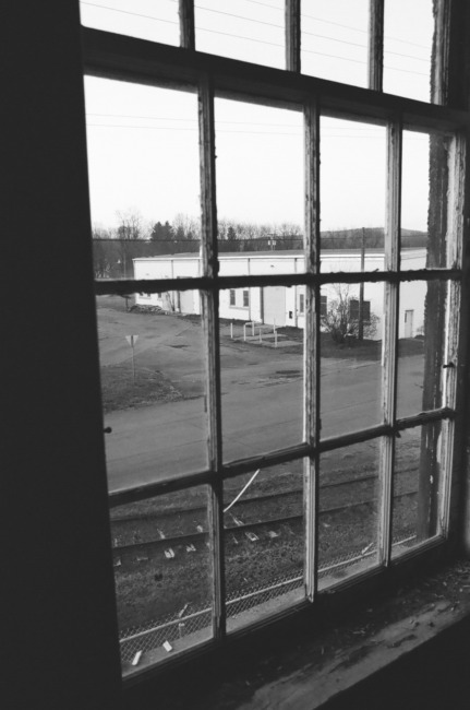 The Depot, Black And White Film Scan