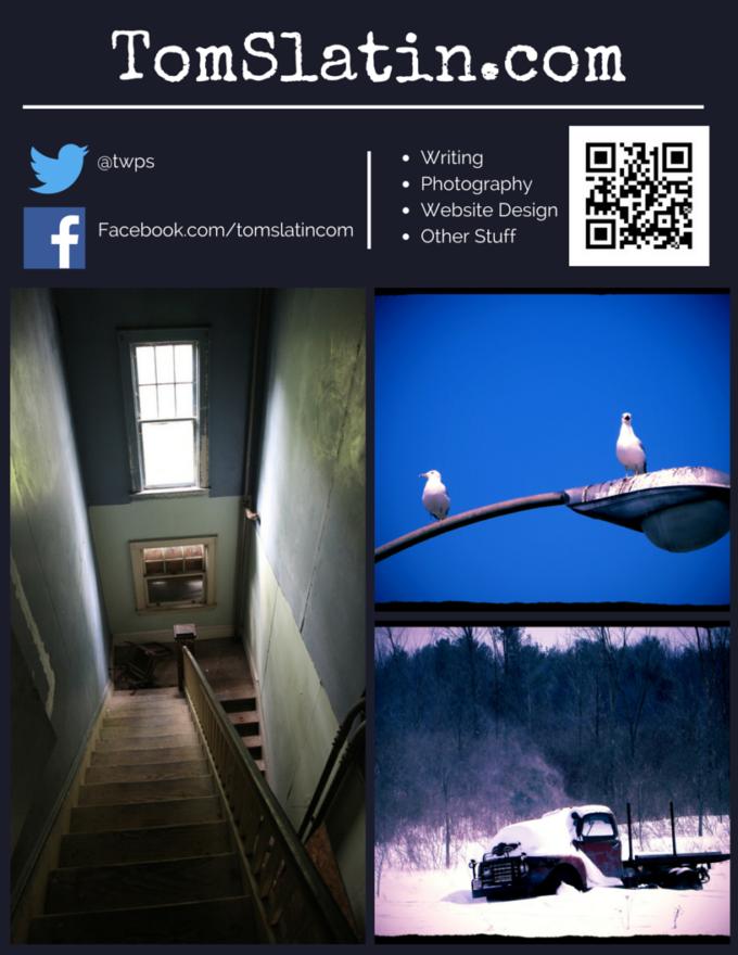TomSlatin.com Flyer #1