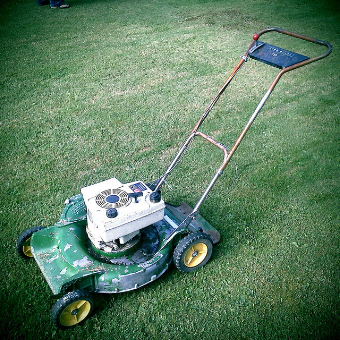 Vintage Lawnmower