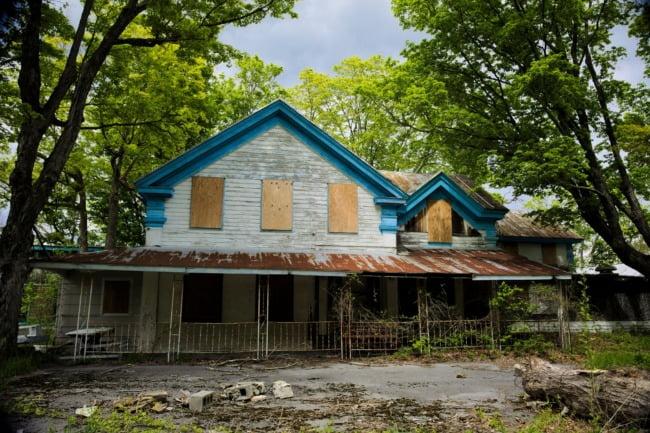 Abandoned Catskills Hotel And Resort