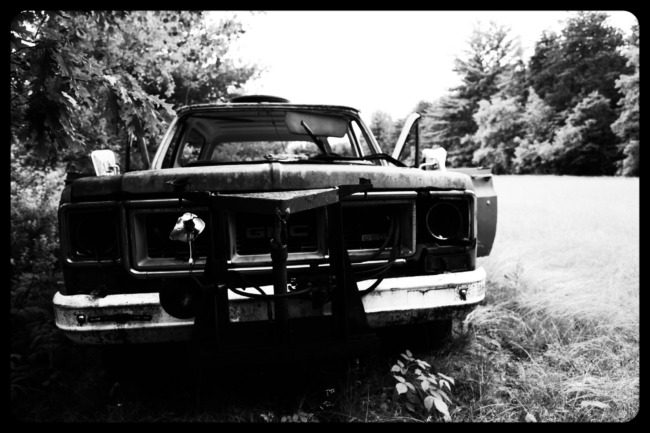 Abandoned GMC Truck (Edit)