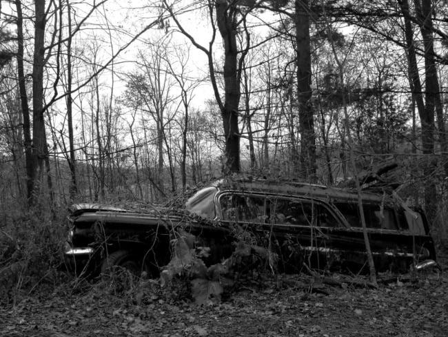 Abandoned Station Wagon