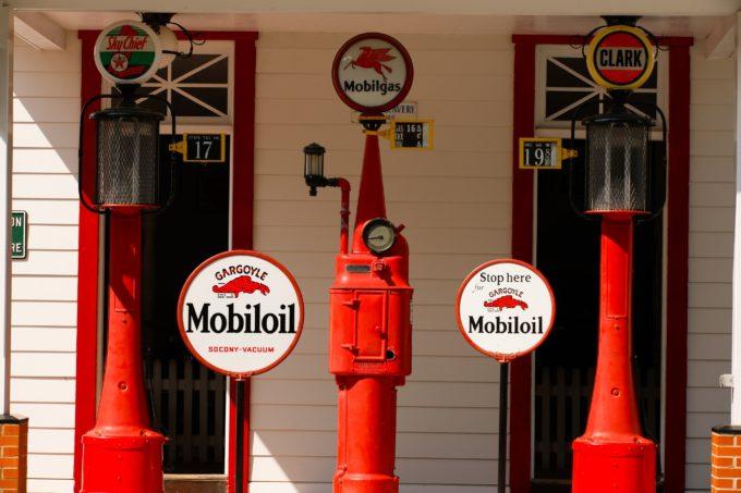 Clarks Vintage Gas Station