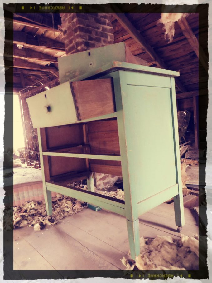 Disheveled Dresser