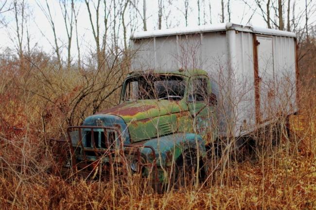 Farm Box Truck