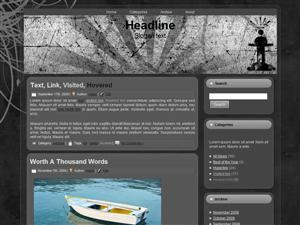 Grunge King WordPress Theme