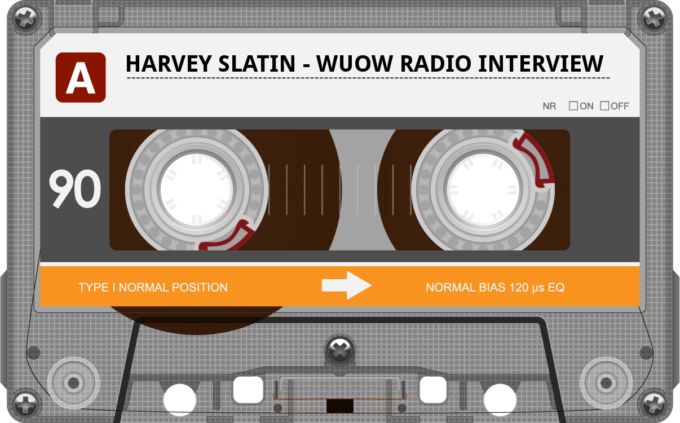 Harvey Slatin Radio Interview On WUOW