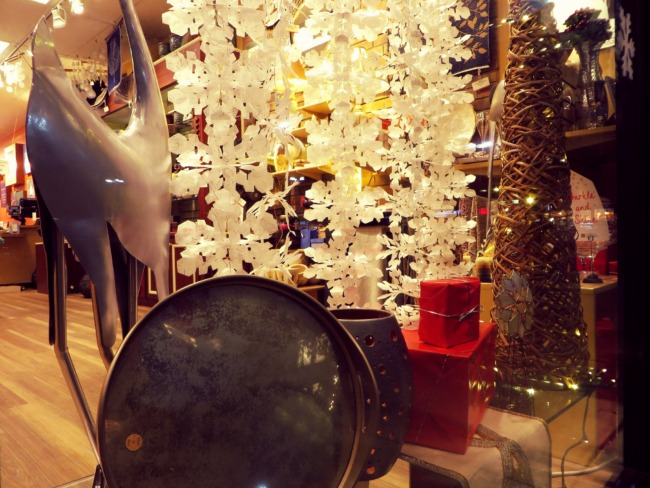 Holiday Store Window