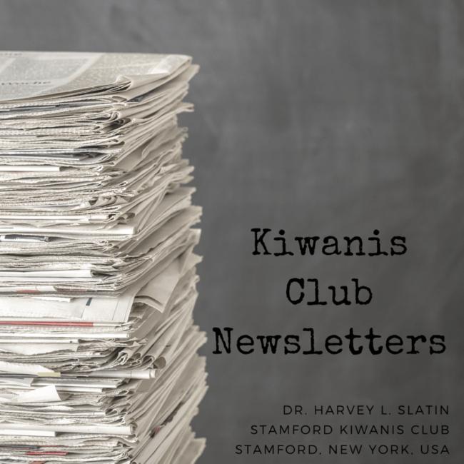 Stamford Kiwanis Club Newsletter – May 22, 2002