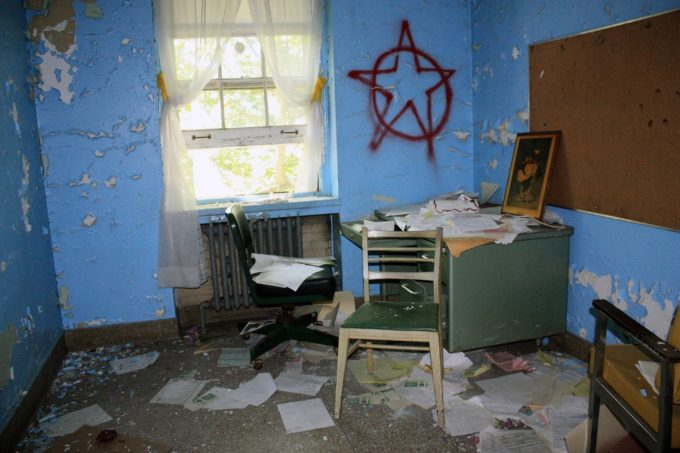 Destroyed Office