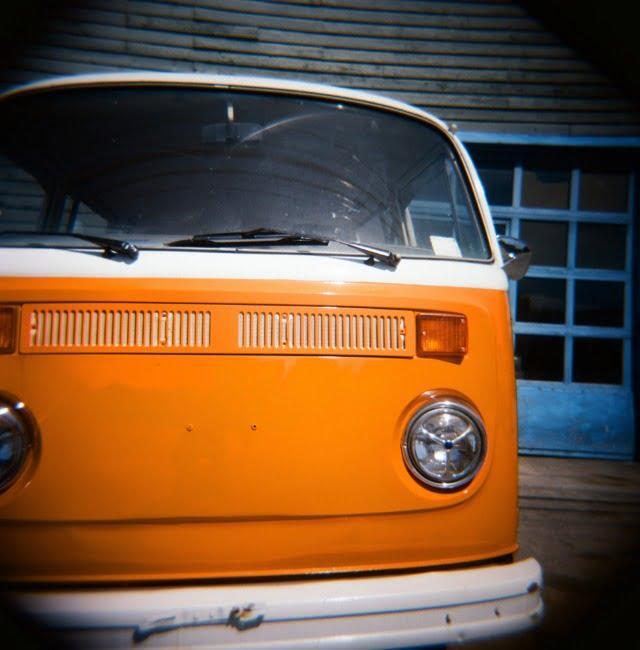 Orange VW Bus (Alternate Take)