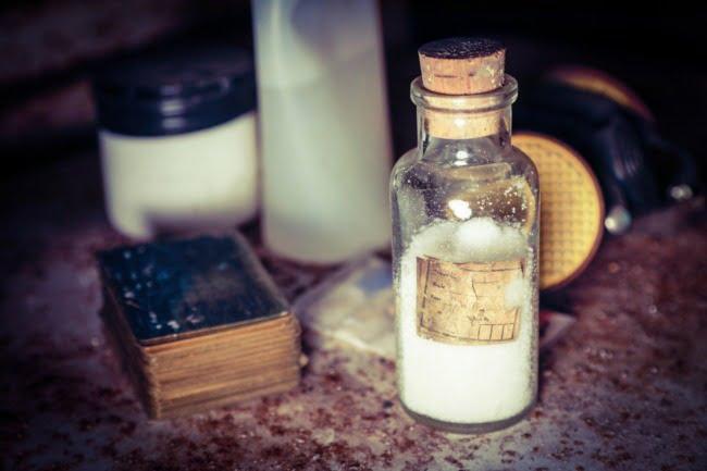 Powder In A Bottle