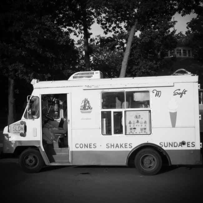 Sketchy Ice Cream Truck
