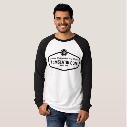 TomSlatin.com 2016 Logo T-Shirt