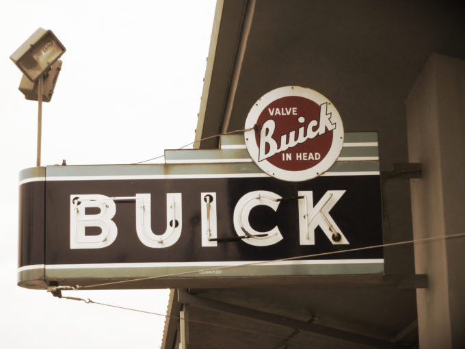 Vintage Buick Sign