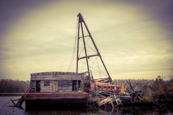 Wooden Ship Graveyard